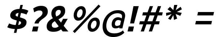 MesmerizeSeSb-Italic Font OTHER CHARS