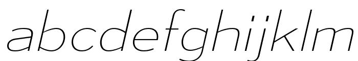 MesmerizeSeUl-Italic Font LOWERCASE
