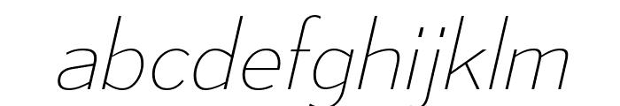 MesmerizeUl-Italic Font LOWERCASE