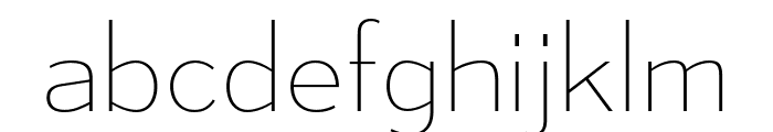 MesmerizeUl-Regular Font LOWERCASE