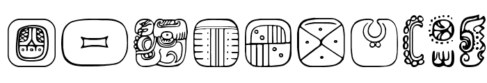 MesoAmerica Dings Four Font OTHER CHARS