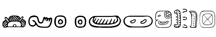 MesoAmerica Dings Two Font OTHER CHARS