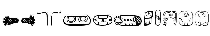 MesoAmerica Dings Font OTHER CHARS