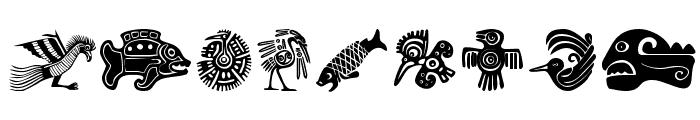 MesoFaunaBats Font OTHER CHARS