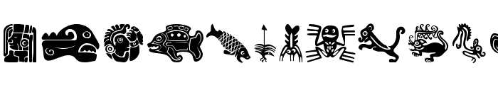 MesoFaunaBats Font LOWERCASE