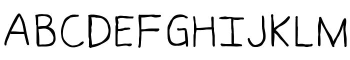 Messen Font UPPERCASE