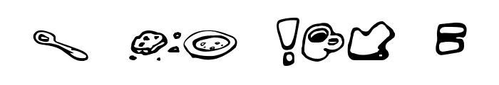 MessyFika Font OTHER CHARS