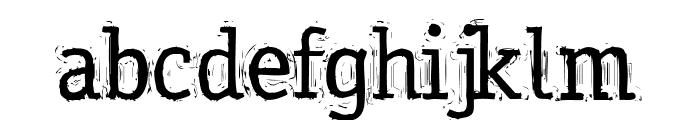 MessyOffice Regular Font LOWERCASE