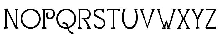 Mestral Font UPPERCASE