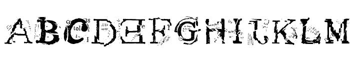 Metacopy Plain Font UPPERCASE