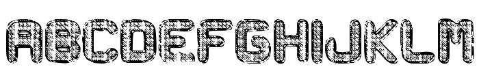 Metal Curvy Font LOWERCASE