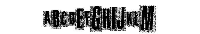 MetalAtlas Font UPPERCASE