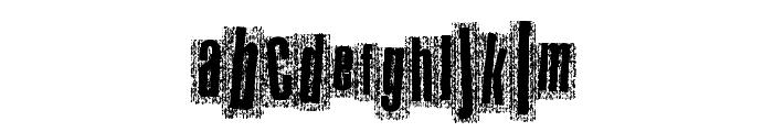 MetalAtlas Font LOWERCASE