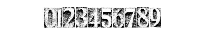 MetalBlockThree Font OTHER CHARS