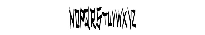 MetalSpectacular Font UPPERCASE
