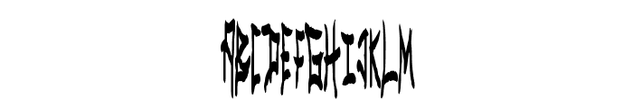 MetalSpectacular Font LOWERCASE