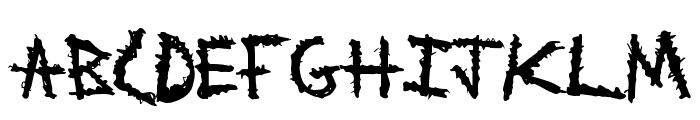 MetalWitch Font LOWERCASE
