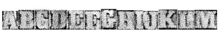 MetalblockDelta Font LOWERCASE