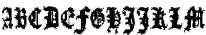 Metamorphose Requiem Font UPPERCASE