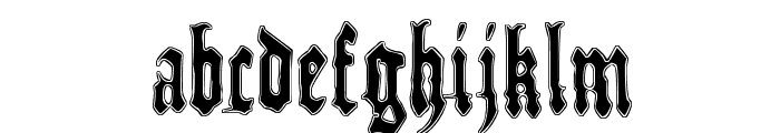Metamorphose Requiem Font LOWERCASE