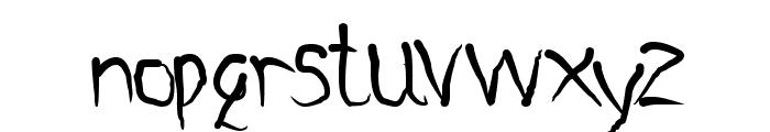 Metamorphosys Font LOWERCASE