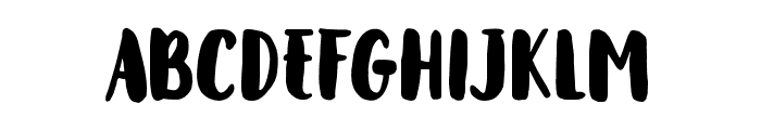 Metasha Font UPPERCASE