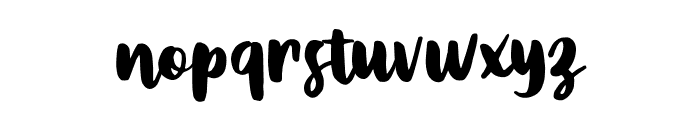 Metasha Font LOWERCASE