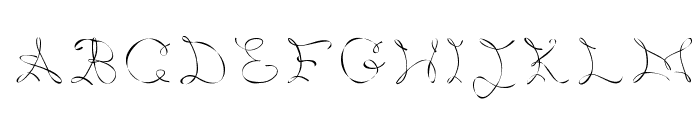 Metis Font UPPERCASE