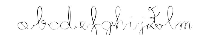 Metis Font LOWERCASE