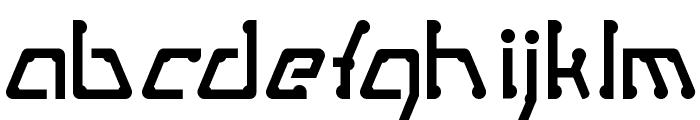 MetroPass Font LOWERCASE