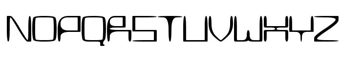 MetroSlum Font UPPERCASE