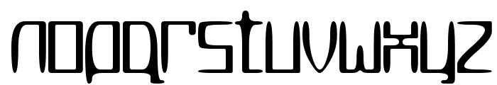 MetroSlum Font LOWERCASE