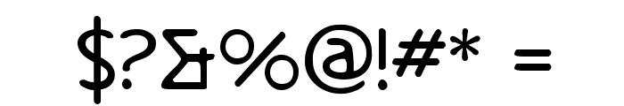 Metrolox Font OTHER CHARS