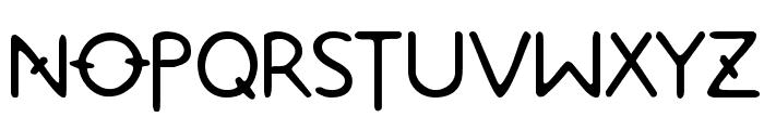 Metrolox Font UPPERCASE