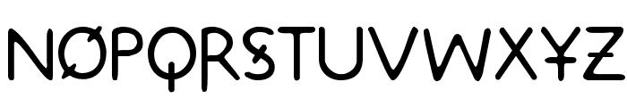 Metrolox Font LOWERCASE