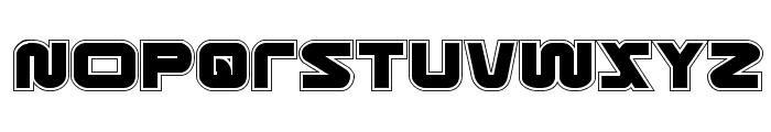 Metronauts Academy Regular Font UPPERCASE