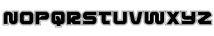 Metronauts Academy Regular Font LOWERCASE