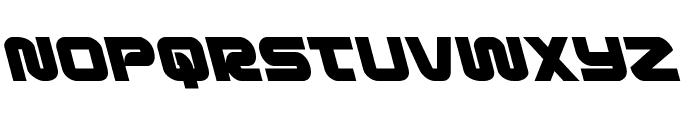 Metronauts Leftalic Font LOWERCASE