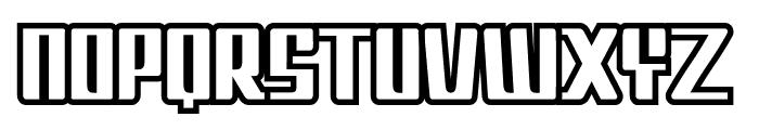 Metrool Font UPPERCASE