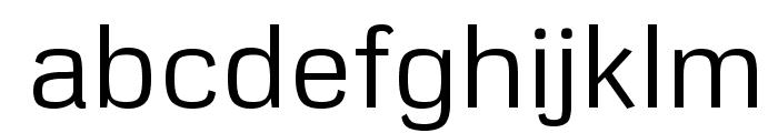 Metrophobic Font LOWERCASE