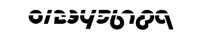 Metroplex Laser Font OTHER CHARS