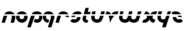 Metroplex Laser Font LOWERCASE