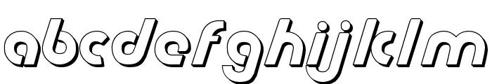 Metroplex Shadow Font LOWERCASE