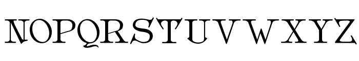 Metropolian Font UPPERCASE