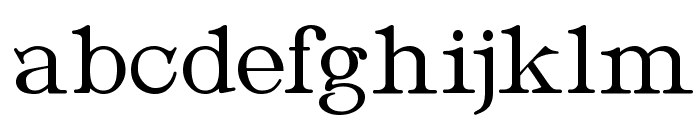Metropolian Font LOWERCASE