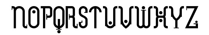 Metropolis NF Font UPPERCASE