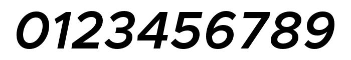 Metropolis Semi Bold Italic Font OTHER CHARS