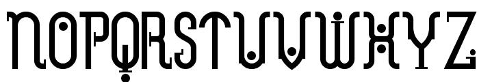 MetropolisNF Font UPPERCASE