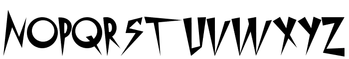 Metropolis Font LOWERCASE
