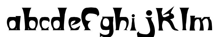 Metropolitain Font LOWERCASE